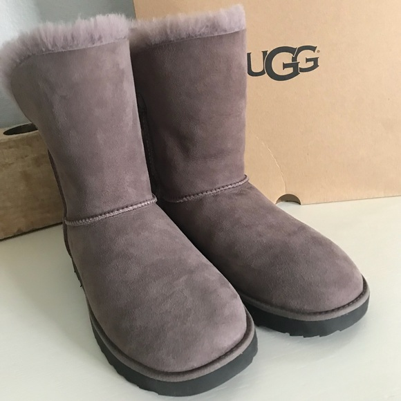 45a8862a92c UGG Stormy Grey Classic Cuff Boots NWT